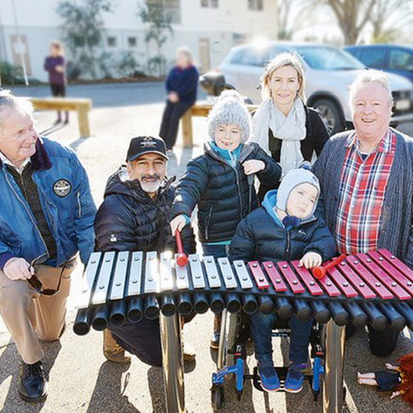 Local Community Pulls Together To Create Inclusive Musical Playground - Blenheim, New Zealand