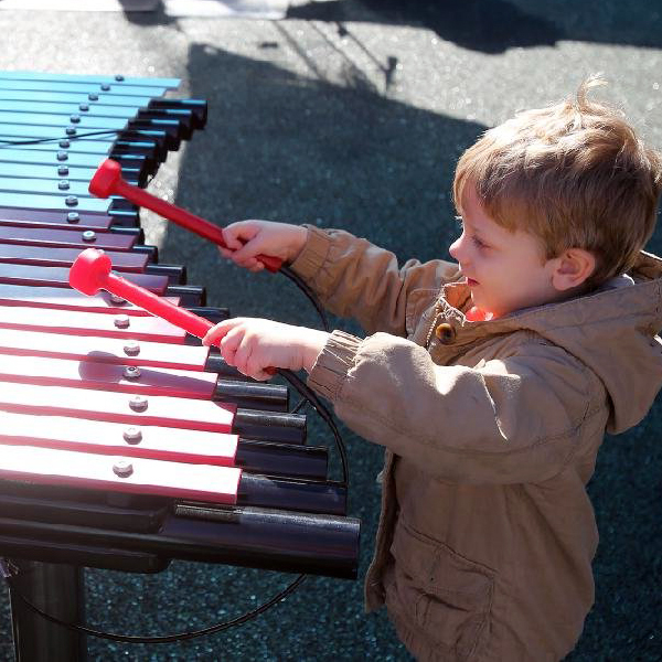 Arkansas Zoo's New Sensory Garden Features Duo Xylophone