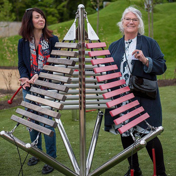 Music for Playful Garden at Brodie Castle, National Trust Scotland