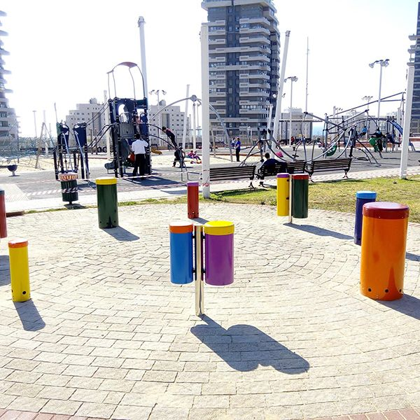 City Of Ashdod Create Wheelchair Friendly Outdoor Drum Circle