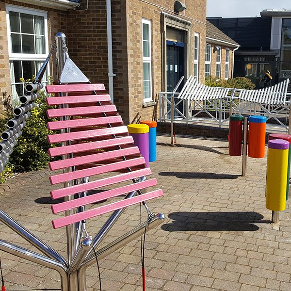 Treloar's Disabled School and College Create Music Sensory Garden for Students